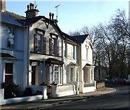 SX9164 : Terraced houses on Lymington Road, Torquay by Derek Harper