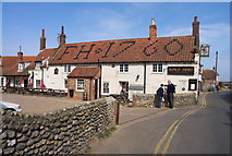 TG0243 : Kings Arms, Blakeney by dennis smith