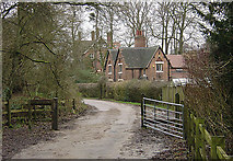 SK5647 : Bestwood Country Park - Woodman's Cottage by Alan Murray-Rust