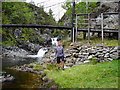 NN9879 : Tarf Bridge by A A Lang