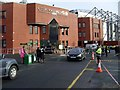 NS6163 : Celtic Park, Main Stand entrance by Stephen Sweeney