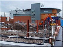 TA1029 : George Street Building Site, Hull by Peter Church