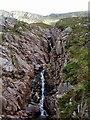 NN1343 : Waterfall in Coire Dearg by Sharon Loxton
