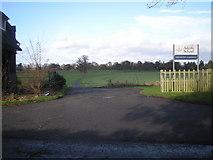SJ4118 : Driveway to Adcote School by Row17