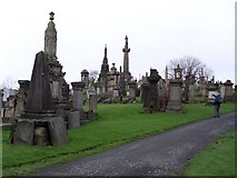 NS6065 : Gravestones and Mausoleums by Stephen Sweeney