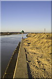 TQ9418 : Rye Harbour Entrance by dennis smith