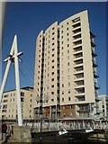 ST1974 : New Flats, Cardiff Bay by Hywel Williams