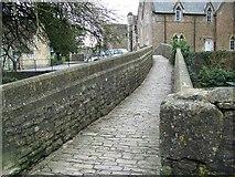 ST6834 : Packhorse bridge, Bruton by Maigheach-gheal