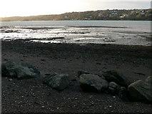 SH5873 : Mudflats,Menai Strait by Eirian Evans