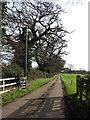 TG0704 : Driveway to Park Farm by Evelyn Simak