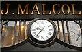 J3374 : Malcolm's clock, Belfast by Albert Bridge
