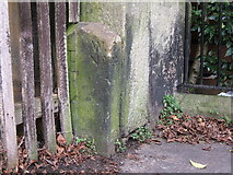 SJ4065 : Boundary Stone on Chester City Walls by BrianPritchard