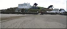 SX6443 : Burgh Island - waterfront buildings by Colin Vosper