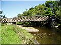 SO0790 : River Severn, Penstrowed railway bridge by kevin skidmore