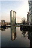 TQ3780 : Marriott Hotel, Docklands by dennis smith