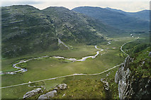 NG9356 : Glen Torridon from the Liathach path by Nigel Brown