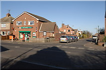 TL4097 : Post Office on the corners of Wisbech Road and Hillside Road by dennis smith