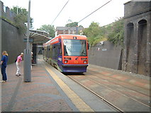 SO9596 : Bilston Central Tram Stop by Stacey Harris