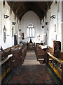 TG0602 : The church of St Andrew and All Saints - view west by Evelyn Simak