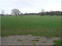 SZ0794 : Ensbury Park: Slades Farm playing field by Chris Downer