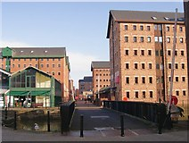SO8218 : Converted warehouses, Gloucester Docks by Philip Pankhurst