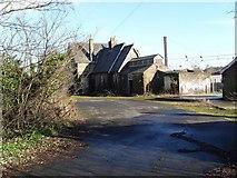 TG2407 : Trowse Railway Station, Norwich (derelict) by Paul Shreeve