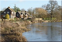 SK3528 : Riverside houses, Barrow upon Trent by Jerry Evans