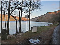 NN6523 : South shore of Loch Earn near Coillemhor by Dr Richard Murray