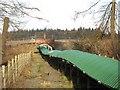 NT3357 : Temple Quarry conveyor by Richard Webb