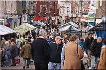 SP0198 : Walsall market by Derek Bennett