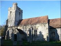 TR0149 : St. Cosmas & St. Damian Church, Challock by pam fray