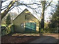 NZ0982 : Hearse house for Bolam St Andrews by Oliver Dixon