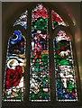 SO8240 : West Window, Hook Church by Bob Embleton