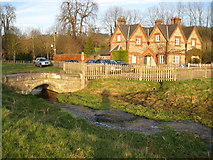 SU8695 : Hughenden Stream in Hughenden Park by Nigel Cox