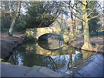 SE2837 : Meanwood Beck by Chris Brierly