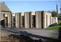 SE2040 : Trinity Church Hall - New Road Side by Betty Longbottom