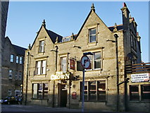 SD8122 : The Crown, Bacup Road, Rawtenstall by Alexander P Kapp