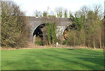 SJ9001 : Arches at Oxley, Wolverhampton by Roger  Kidd