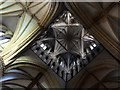 SK9771 : Interior of the Cathedral, Lincoln by Dave Hitchborne