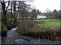 SN0422 : Afon Syfynwy at Stepaside bridge by ceridwen