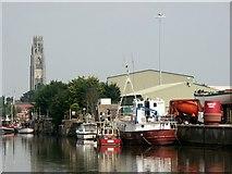 TF3242 : Riverside Quay, Boston by Dave Hitchborne