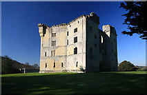 ST9326 : Old Wardour Castle ruins by Mike Searle