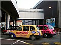 SP0786 : Taxis arriving at New Street Station by Rose and Trev Clough