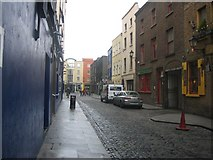 O1534 : Cope Street, Dublin 2 by Harold Strong