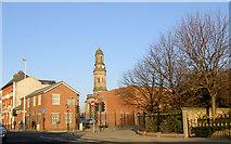 SJ8298 : St Philip With St Stephen C Of E Church Salford by Steve  Fareham