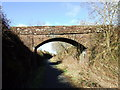 NS3371 : Bridge at West Kilbride farm by Thomas Nugent