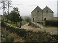 ST6961 : Priston Mill on a foggy February morning by Nick Smith