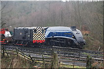 NZ8204 : Sir Nigel Gresley by N Chadwick