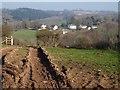 SX5647 : Rutted field, Hewster's Hill by Derek Harper