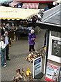 SX8571 : Newton Abbot market by paul dickson